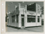 Exterior view of White Castle number 17, New York, New York