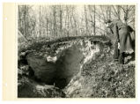 New Straitsville covered mine tunnel photograph