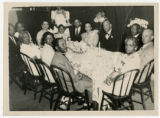 Bishop Dougal Ormonde Beaconfield Walker and Eva Walker dinner party photograph