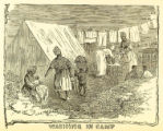'Washing in Camp' illustration