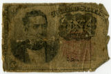 United States Civil War ten dollar bill