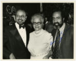 Anna Arnold Hedgeman, Percy Sutton and Dr. John L. S. Holloman photograph