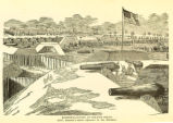 'Fortifications at Hilton Head' illustration