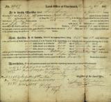Cincinnati federal land office records