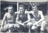 Finch, Hub and fellow medics in Okinawa
