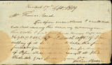 John Bever to Thomas Rotch, Kendal, 17th Sept 1819