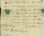Alexander Skinner letter to Thomas Rotch
