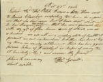 Thomas Grisell letter to Thomas Rotch, 5th mo 23rd 1814