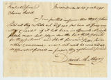 David Anthony letter to Thomas Rotch, Providence 12 da 7 mo 1796