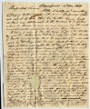 Amzi Armstrong letter to Thomas Rotch, Bloomfield, 12th Nov 1819