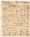 Jacob Barker letter to Thomas Rotch, New York 8 mo 20th 1813