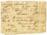 Richard Bowen & Company letter to Thomas Rotch, 1st Jany 1817