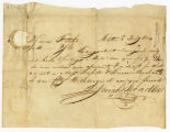 Josiah Bradlee letter to Thomas Rotch, Boston 3d Feby 1804