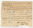 Thomas Butler letter to Thomas Rotch, Nantucket June 23, 1794