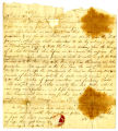 Thomas Coffin letter to Thomas Rotch, Canton, 28th 11th mo 1812