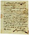 Joseph Hoxie letter to Thomas Rotch, Sandwich 8th 1 mo 1796