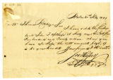 Joseph Hussey letter to Thomas Rotch, Boston, 20th July 1799