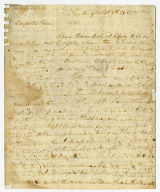 Maria Imlay letter to Thomas Rotch, Trenton, 9th Mo 8th 1815