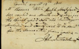 John Sutherland letter to Thomas Rotch, Kendal August 13th 1812