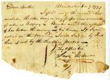 Samuel Rodman letter to Thomas Rotch, Nantucket, 8 mo 9 1797
