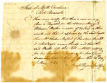 Daniel Rogers letter to Thomas Rotch, Port Roanoke, North Carolina 20 May 1789