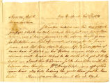William Rotch Jr. letter to Thomas Rotch, New Bedford, 3 mo 27 1821