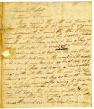 Arvine Wales letter to Thomas Rotch, 1st Mo 17th, 1812