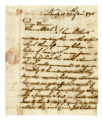 Job Chaloner letter to Thomas Rotch, Newport, 29th of 8 mo 1795