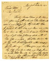 Isaac Hicks letter to Thomas Rotch, New York, 10th mo 22, 1800