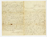 George and Jefferson Glover to Miss Sarah Glover, June 21, 1864 letter