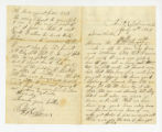 Jefferson Glover to Miss Susan Glover, July 11, 1864 letter