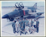 Group photograph at Bergstrom Air Force Base