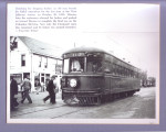 Village picture of last interurban  leaving West Jefferson, Ohio