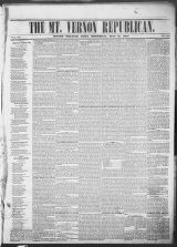 Mt. Vernon Republican (Mount Vernon, Ohio : 1854), 1860-05-31