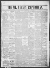 Mt. Vernon Republican (Mount Vernon, Ohio : 1854), 1861-07-11