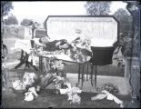 Open casket photograph