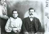 Man and woman portrait photograph