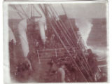 Rough Seas on the Troop Transport