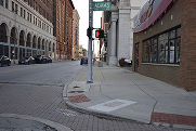 Street scene in Downtown Toledo, November 11, 2018