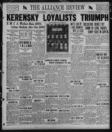 The Alliance review and leader. (Alliance, Ohio), 1917-11-13