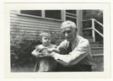 A.D. Baker with Child