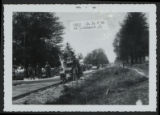 Paving State Route 46 in Colebrook, Ohio photograph