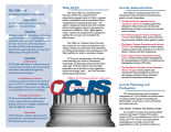 Office of Criminal Justice Services the lead justice planning agency for the state of Ohio