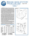 Monthly water inventory report for Ohio