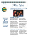 News Link : a Publication of the Counselor, Social Worker and Marriage and Family Therapist Board.