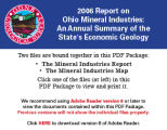 Report on Ohio mineral industries with directories of reporting coal and industrial mineral...
