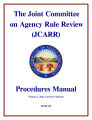 Joint Committee on Agency Rule Review (JCARR) procedures manual