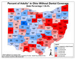 2008 Ohio Family Health Survey maps.