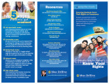 Know your rights : a consumer guide for students : ensuring students know their rights as...
