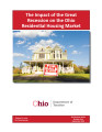 Impact of the great recession on the Ohio residential housing market